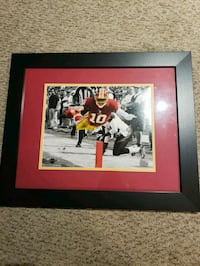 Redskins RG3 framed photo Woodbridge, 22191