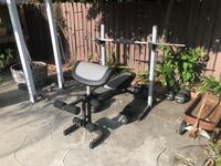 Weight bench and weights Burbank, 91506