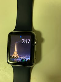 Space black aluminum case apple watch with black sport band Gaithersburg, 20877