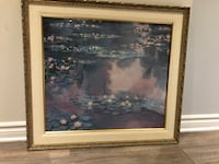 Monet's Water lillies painting