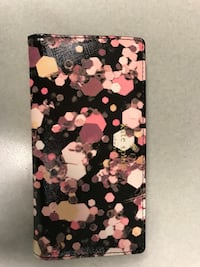 Kate Spade floral clasp wallet  New York, 11213