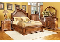 BEDROOM FURNITURE 8PC QUEEN