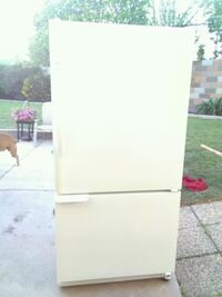 White refrigerator. Free delivery