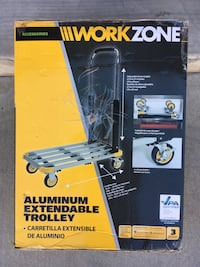 NEW Aluminum Extendable Trolley Pasadena, 91103