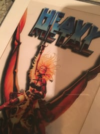 Heavy Metal Movie Lithograph