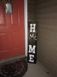 Handcrafted Porch sign - 4 feet  Charlotte, 28215