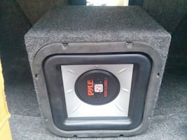 Car Subwoofer And Enclosure 10 Inch