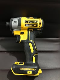 black and yellow Dewalt cordless power drill Silver Spring, 20902