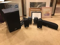 5 Speakers and sub woofer Edmonton, T5T 5N2