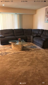 5-piece sectional with USB charger ports. Selling for best offer! Upper Marlboro, 20774