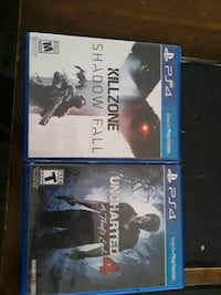 two Sony PS4 game cases Moreno Valley, 92551