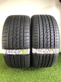 295 40 21  Continental CrossContact—2 used tires 90% life  Orlando, 32805