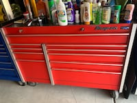 red Snap-On tool chest Las Vegas, 89141