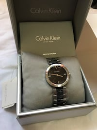 Brand New Authentic Calvin Klein Watch for women/Retail price  $290. Edmonton, T5E 2T3