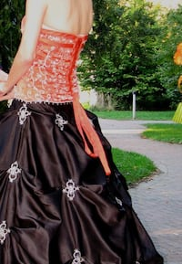 Formal Dress - Halloween Colors - Homecoming, Prom, Bridal Virginia Beach, 23454