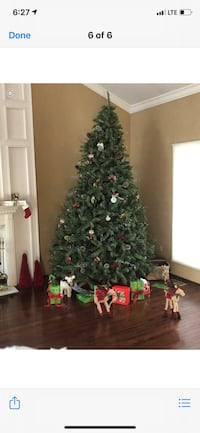 NEW 9ft. Spinning Christmas tree from English gardens, $229