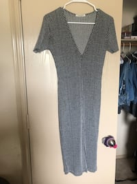 Gray Tight Dress Spring, 77388