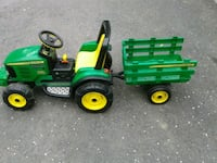 green and yellow John Deere ride on toy car Glen Arm, 21057