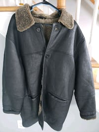 Mens leather jacket  Hampton