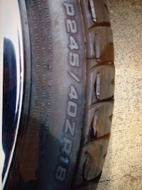 2007 Vett Rim/Tire Set Fort Washington, 20744