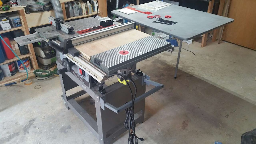 Used ryobi bt3000 10b table saw system in quinton greentooth Choice Image