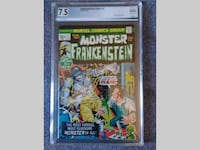 The Monster of Frankenstein #1 JAN 1973 *PGX 7.5 SHELTON