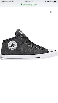 Converse All stars Mid high top Charcoal/Heather grey