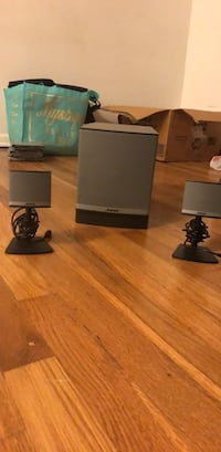 Bose subwoofer and speakers for computer Carle Place