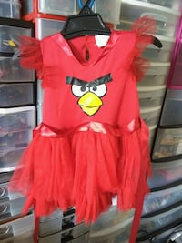 New but missing headband angry bird Halloween cost