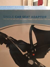Single car seat adapter set
