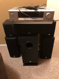 black and gray home theater system Germantown, 20874