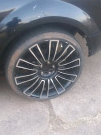 "20"" rims 5 hole universal Oklahoma City, 73119"