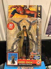 Doctor Octopus Spider-Man 2 action figure