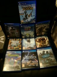 Ps4 games (100 each) Tønsberg, 3150