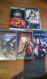 4 game and 1 movie Coquitlam