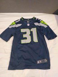 Kam chancellor stitched Jersey size small