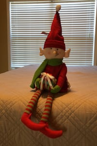 Christmas BRAND NEW with tags. Elf to sit on a shelf