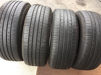 4 tires all season Michelin size 215/60/R16 Brampton, L6R 3M6