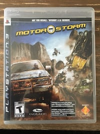 Ps3 Motor Storm - $5 New Westminster, V3L