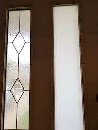 Glass panels for front door
