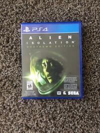 alien isolation ps4 Calgary, T2X 0Z1