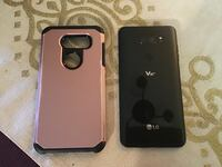 Black lg v30 Qline 7 with gold case Nashua, 03064