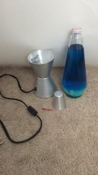 blue and gray lava lamp Woodbridge, 22191