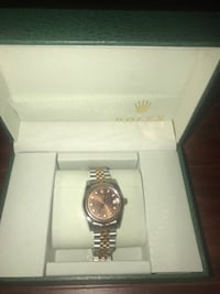 Rolex watch 18 gild