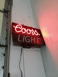 Neon coors sign Frederick, 21702