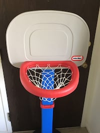 white and red Little Tikes basketball hoop Wheeling, 60090