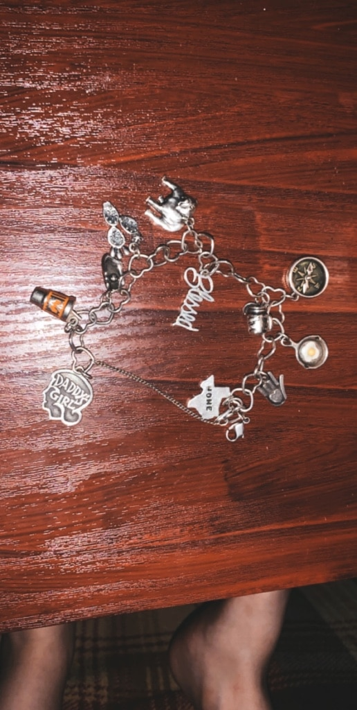 Photo James Avery bracelet with charms