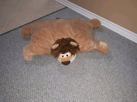 Large Lion Pillow Port Hope