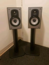 Paradigm speakers and stands London, N6H 4P3