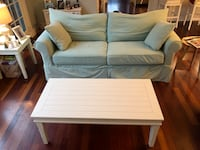 "Sofa:  84"" Slipcover & coffee table  Newport, 02840"